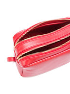 Mansur Gavriel - Flaming Red Leather Double-Zip Crossbody Bag