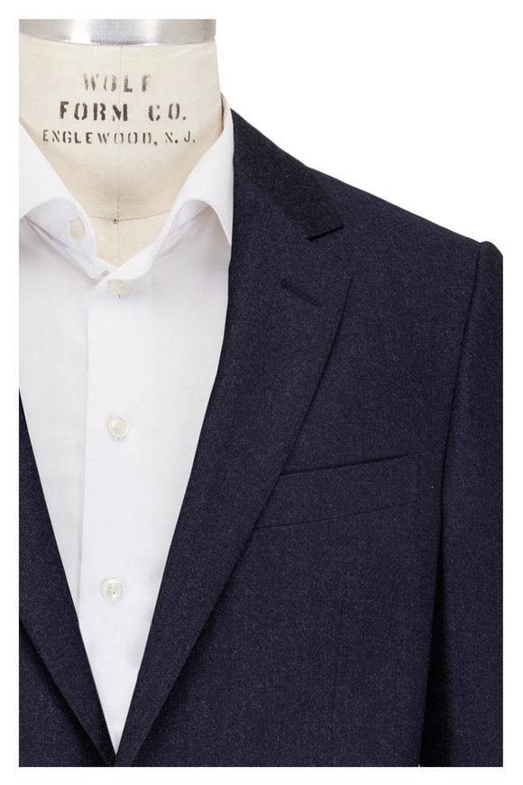 Lanvin Attitude Blue/Grey Two-Button Suit