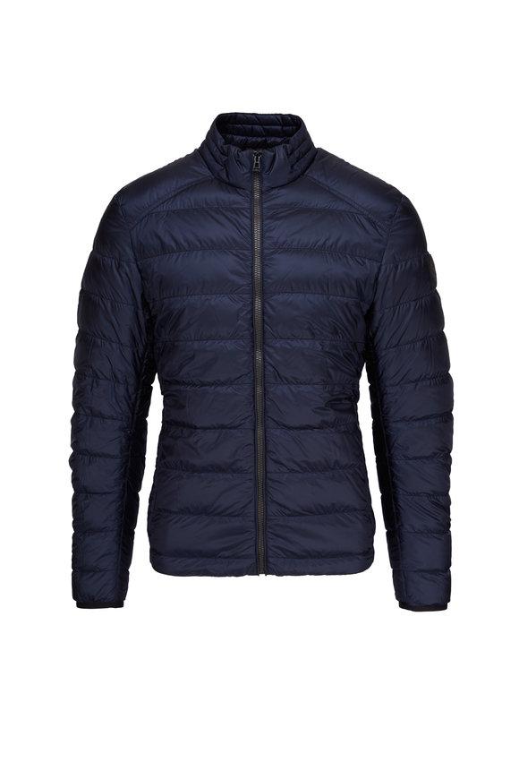 Belstaff Ryegate Dark Ink Puffer Jacket