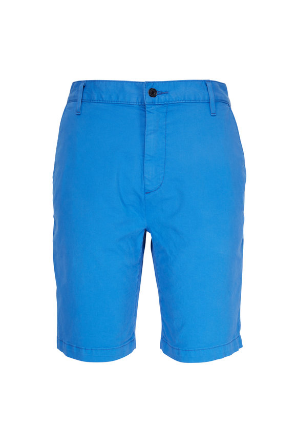 7 For All Mankind Cobalt Tailored Chino Shorts