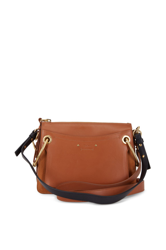 Chloé Roy Caramel Leather Medium Shoulder Bag