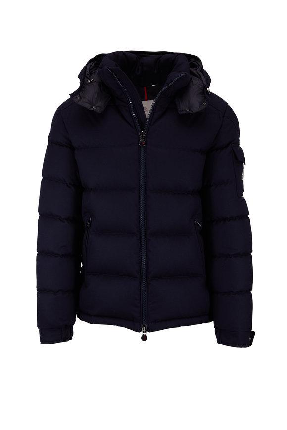 Moncler Montgenevre Navy Quilted Puffer Jacket