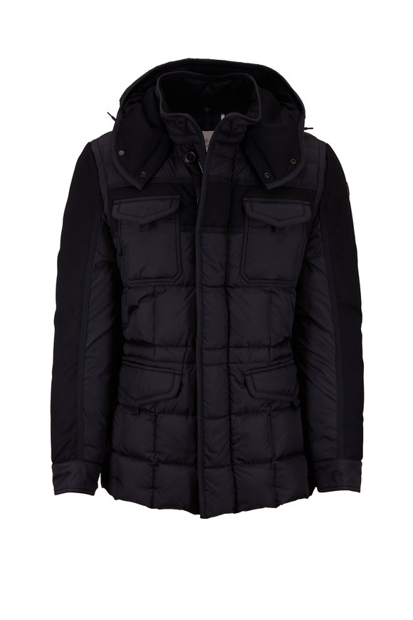 Moncler Jacob Black Quilted Puffer Jacket