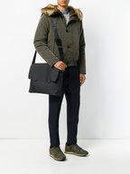 Troubadour - Black Nylon Messenger Bag