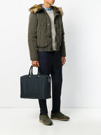 Troubadour - Navy Blue Nylon 24-Hour Bag
