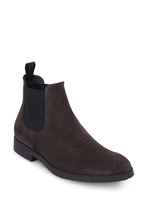 To Boot New York Caracas Gray Suede Chelsea Boot
