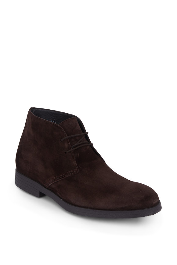 To Boot New York Boston Brown Suede Chukka Boot