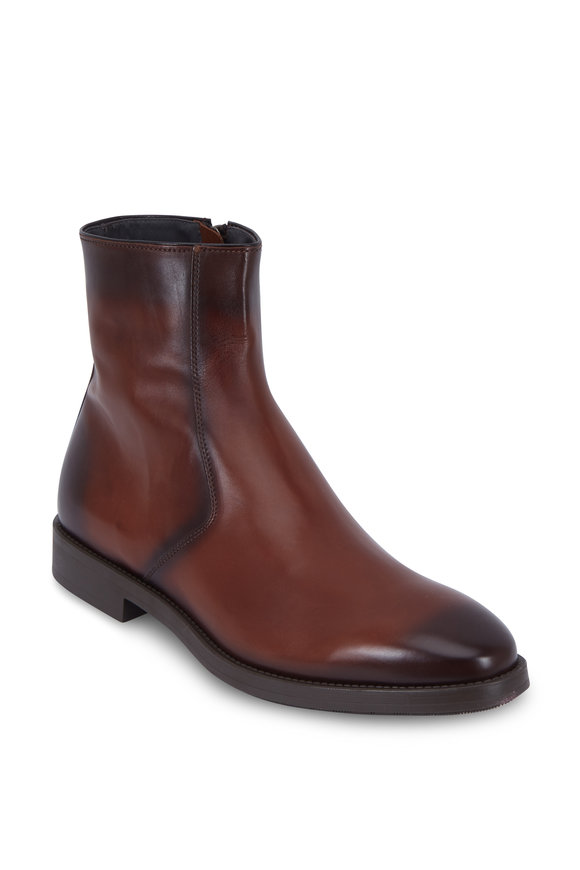 To Boot New York Rosemont Marrone Burnished Leather Boot