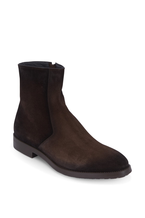 To Boot New York Rosemont Ebano Burnished Suede Boot