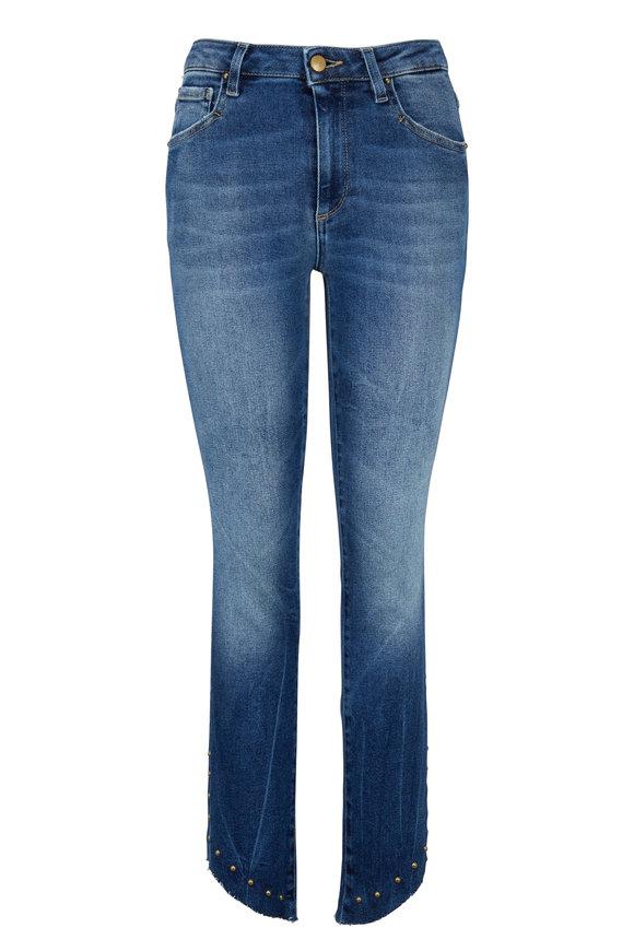 Acynetic Denim Loren Grommet Hem Skinny Ankle Jean