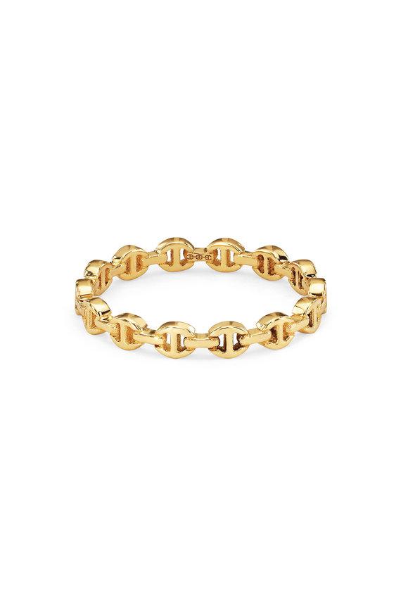 Hoorsenbuhs 18K Yellow Gold Micro Dame Ring