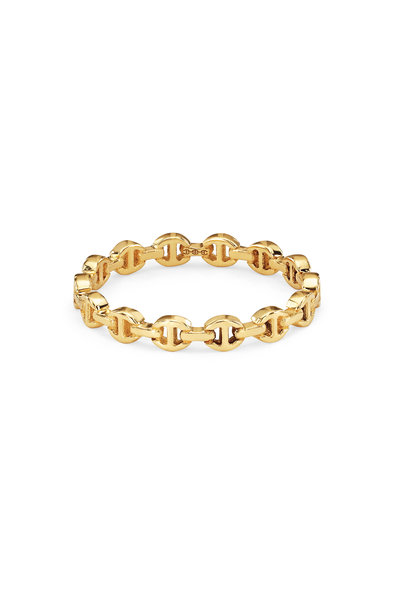 Hoorsenbuhs - 18K Yellow Gold Micro Dame Ring