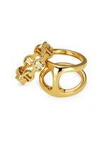 Hoorsenbuhs - 18K Yellow Gold Dame Phantom Clique Ring