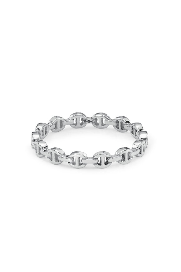 Hoorsenbuhs 18K White Gold Micro Dame Ring