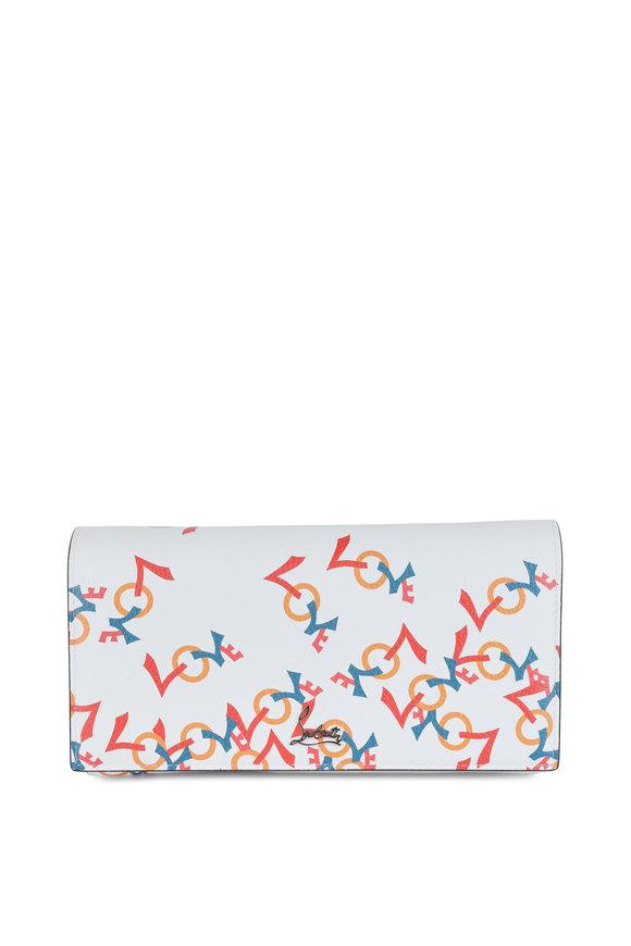 Christian Louboutin Boudoir Latte Love Leather Wallet