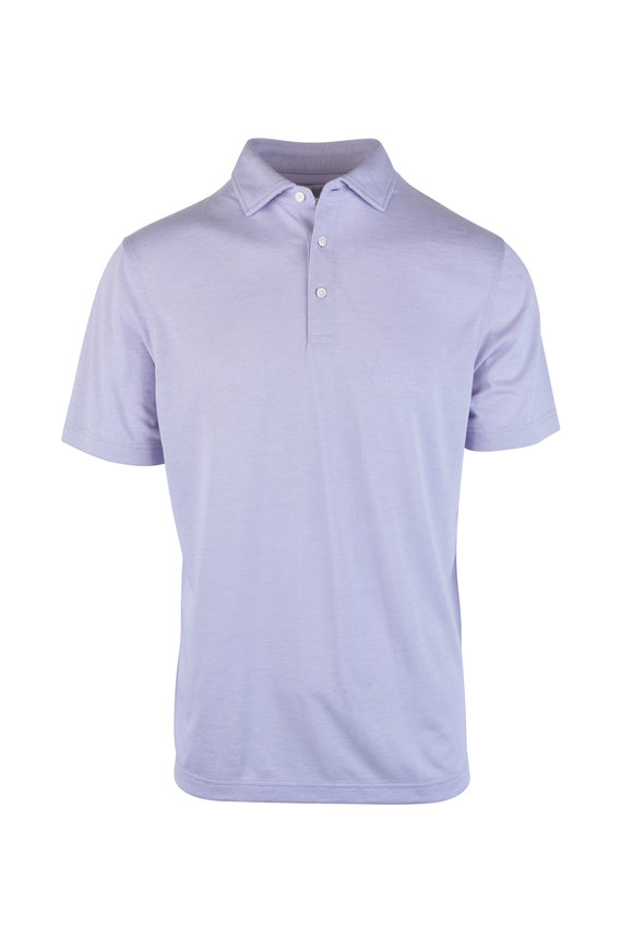 Vastrm Lavender Jersey Polo