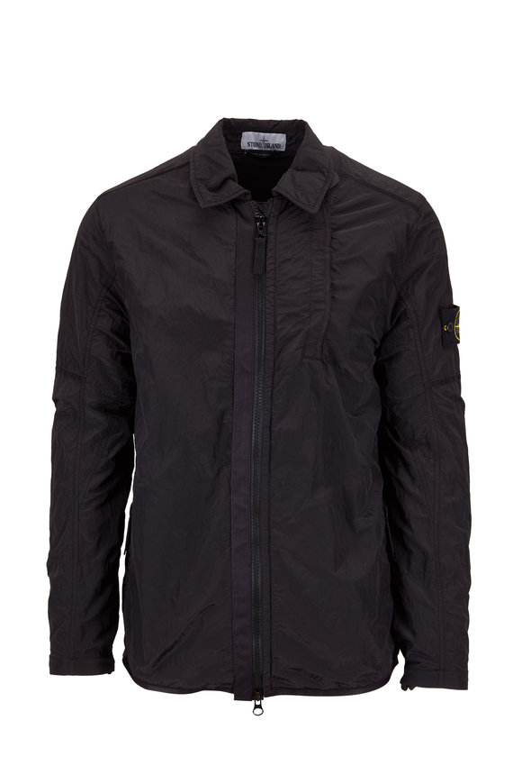 Stone Island Black Three Pocket Jacket