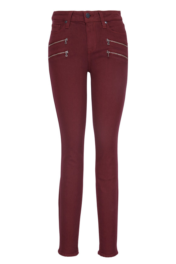 Paige Denim Edgemont Vintage Dark Currant Ultra Skinny Jean