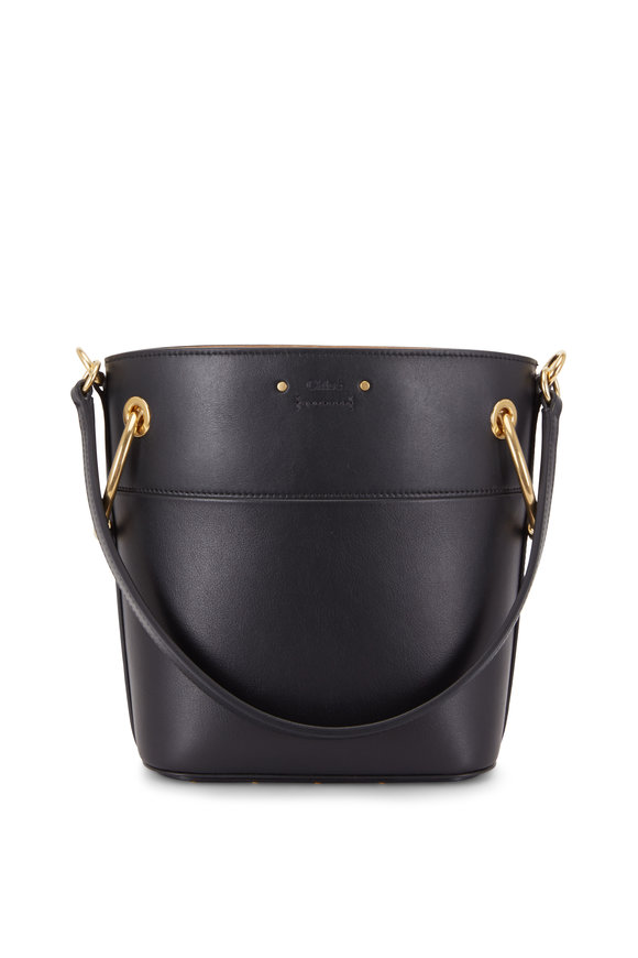 Chloé Roy Natural Leather Small Bucket Bag