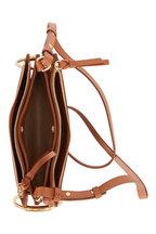 Chloé - Roy Caramel Leather & Suede Mini Bag