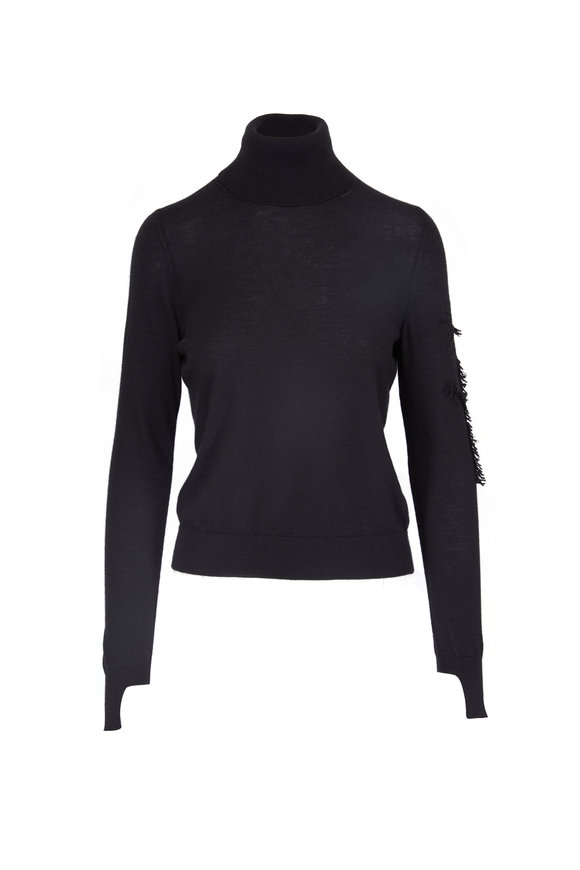 Barrie Cashmere Turtleneck Pullover Sweater