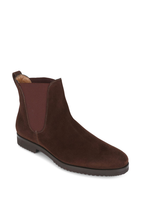 Gravati Medium Brown Suede Chelsea Boot