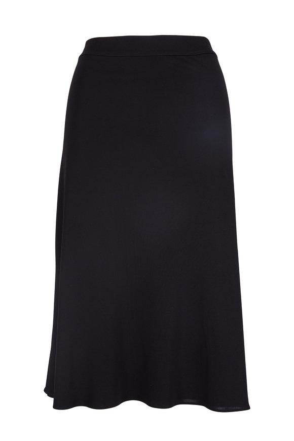 Peter Cohen Black Jersey Skirt