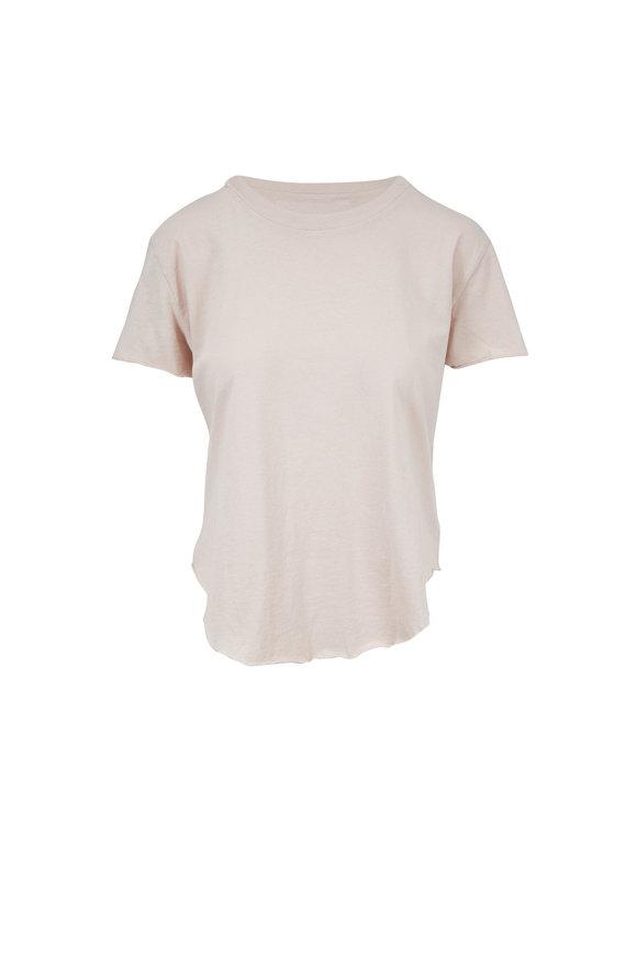 Frank & Eileen Vintage Nude Cotton T-Shirt