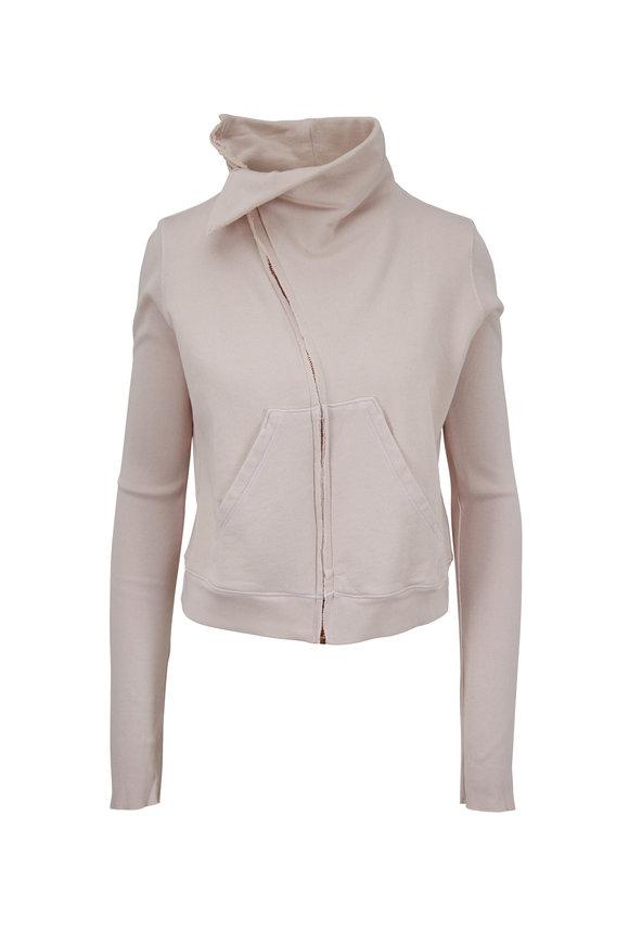 Frank & Eileen Lab500 Nude Cotton Side Zip Jacket