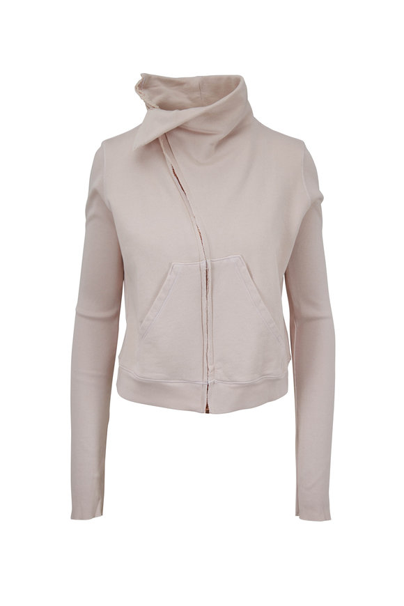 Frank & Eileen Lab500 Nude Cotton Side Zip Jacket