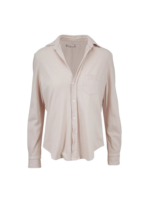 Frank & Eileen Lab Eileen Nude Cotton Button Down