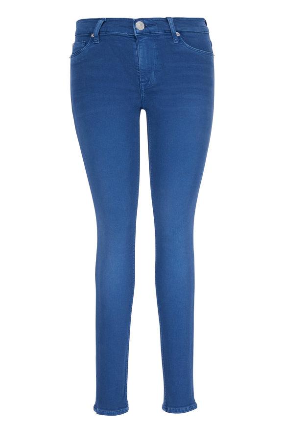 Hudson Clothing Nico Blue Midrise Super Skinny Ankle Jean