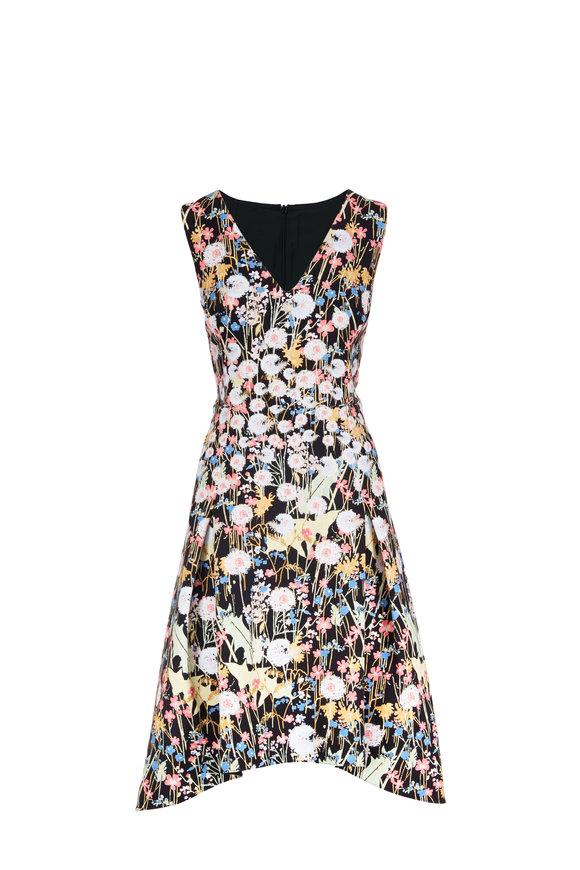 Peter Pilotto Cady Dandelion Print Fit & Flare Dress