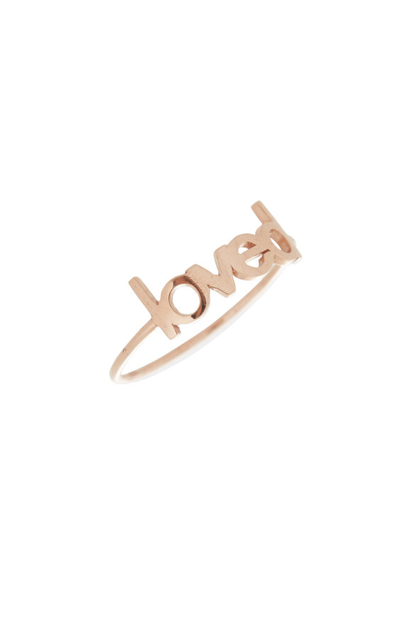 Genevieve Lau 14K Rose Gold Loved Ring