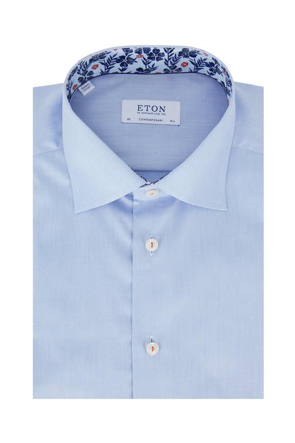 Eton Light Blue Contemporary Fit Dress Shirt