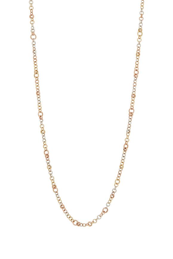 Spinelli Kilcollin Gold & Silver Gravity Chain Necklace