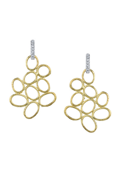 Bochic - Diamond Gold Earrings