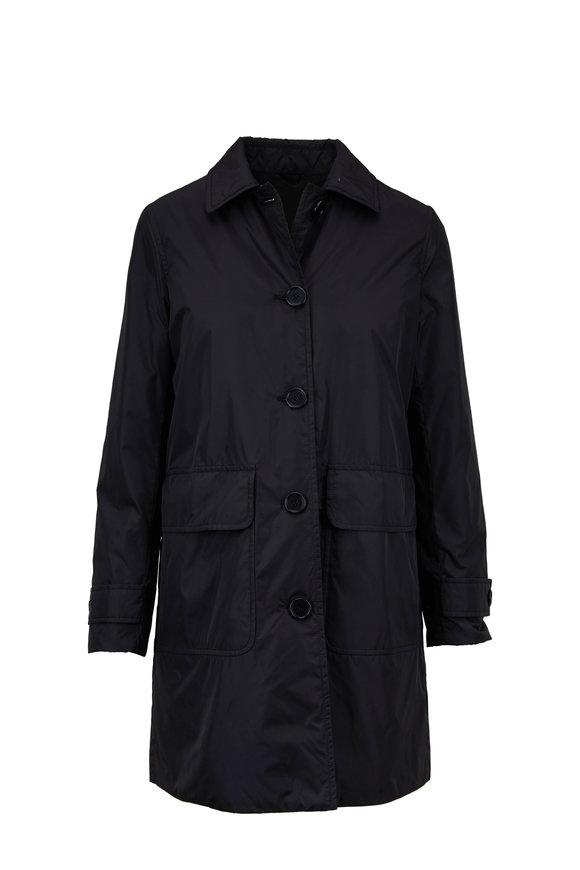 Aspesi Albanella Black Tech Two-Pocket Jacket