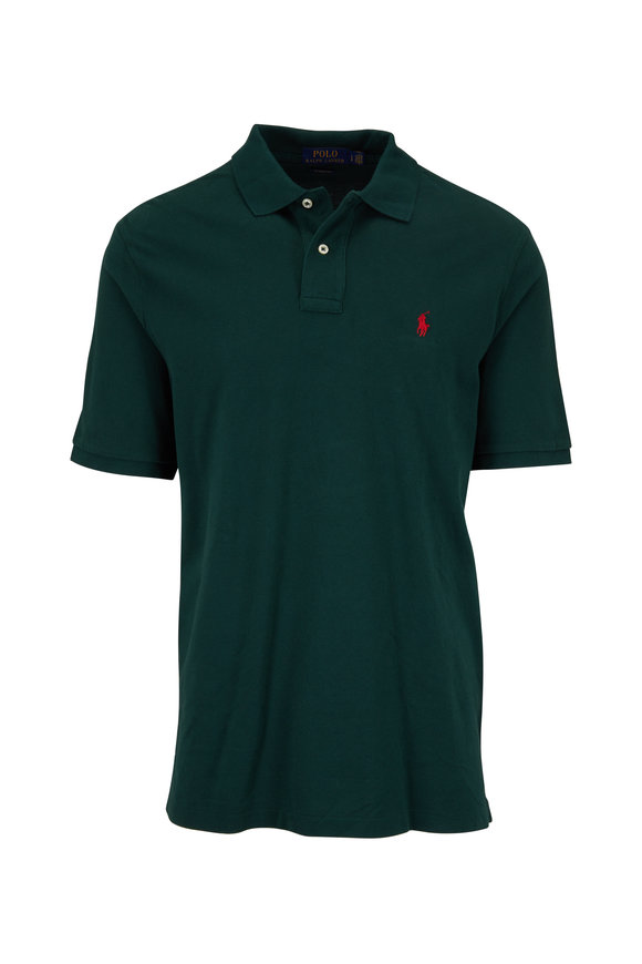 Polo Ralph Lauren Hunter Green Cotton Polo