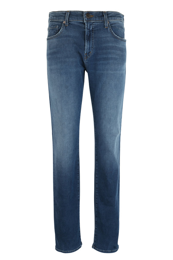 J Brand Kane Bansko Slim Straight Five Pocket Jean