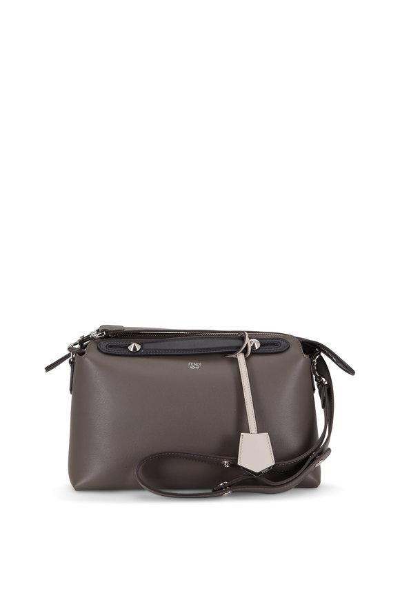Fendi By The Way Coal Leather Medium Crossbody