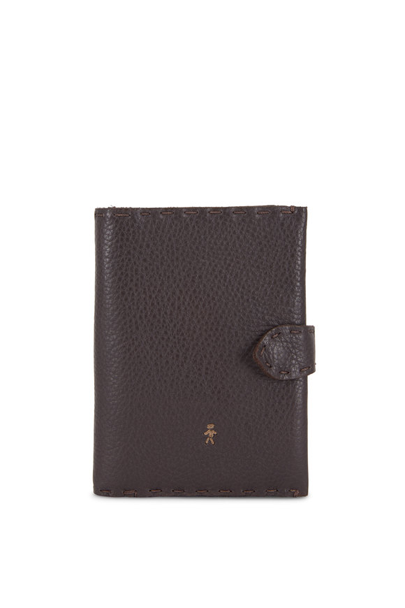 Henry Beguelin Regina Brown Leather French Wallet