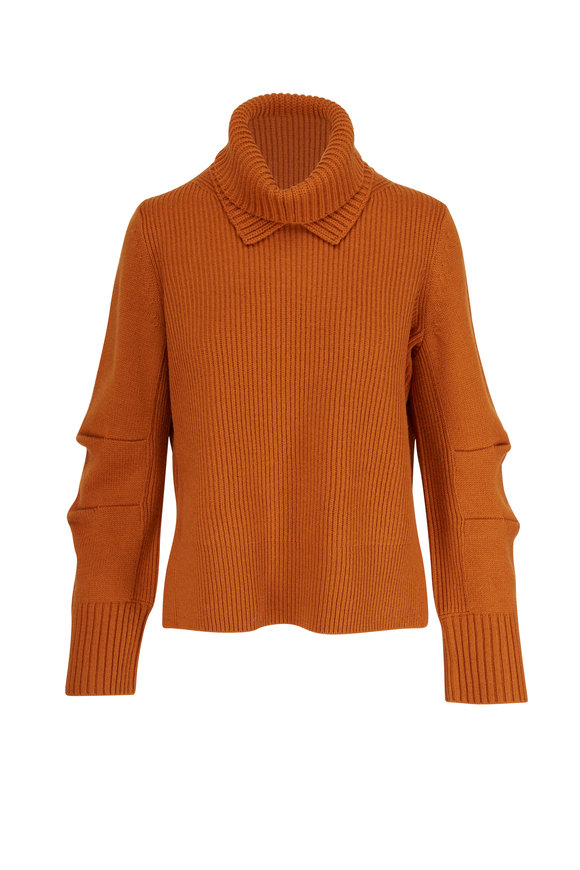 Dorothee Schumacher Rulebreaker Ginger Knit Wool & Cashmere Sweater