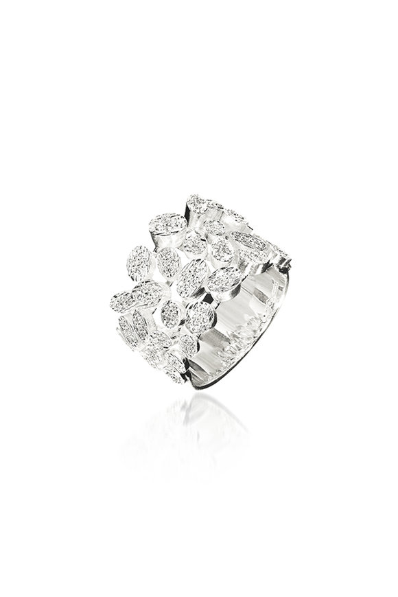 Luisa Rosas 18K White Gold Diamond Ring