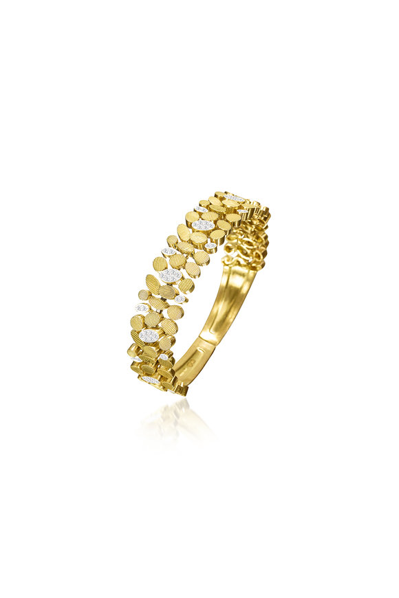 Luisa Rosas 18K Yellow Gold  Diamond Bracelet