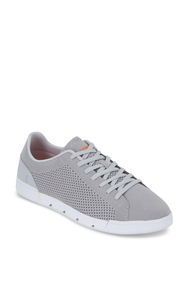 Breeze Tennis Knit Light Gray Sneaker