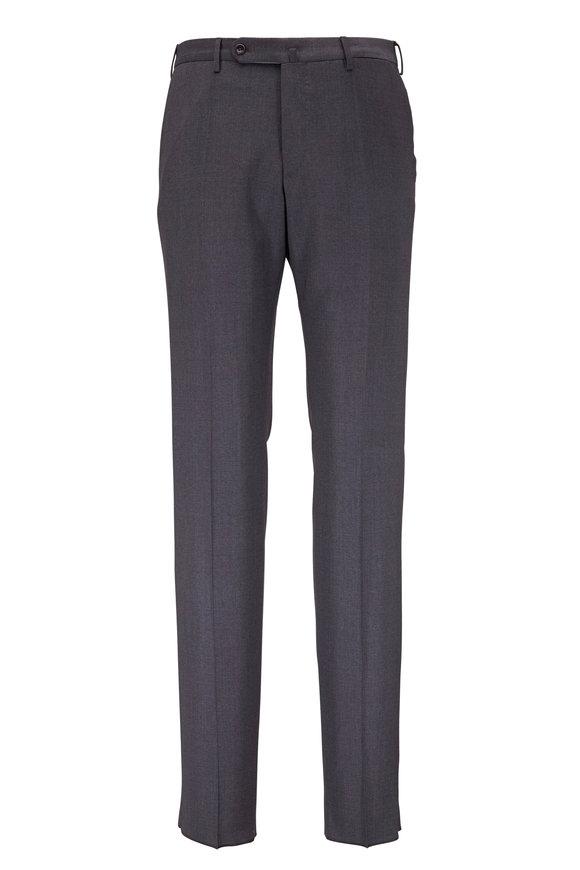 Incotex Benson Gray Techno Wool Modern Fit Pant