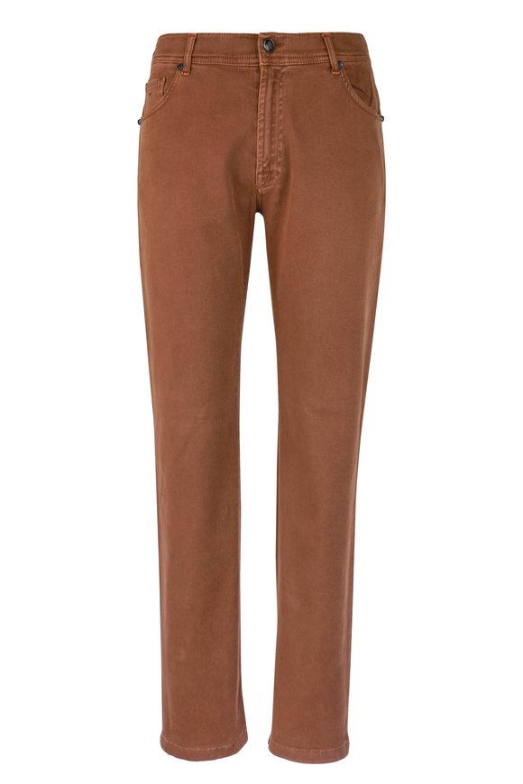 Marco Pescarolo Neranom Acorn Stretch Cotton Five Pocket Pant