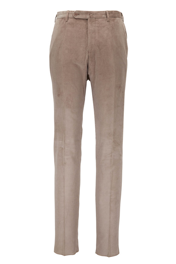 Incotex Benn Stone Beige Corduroy Pant