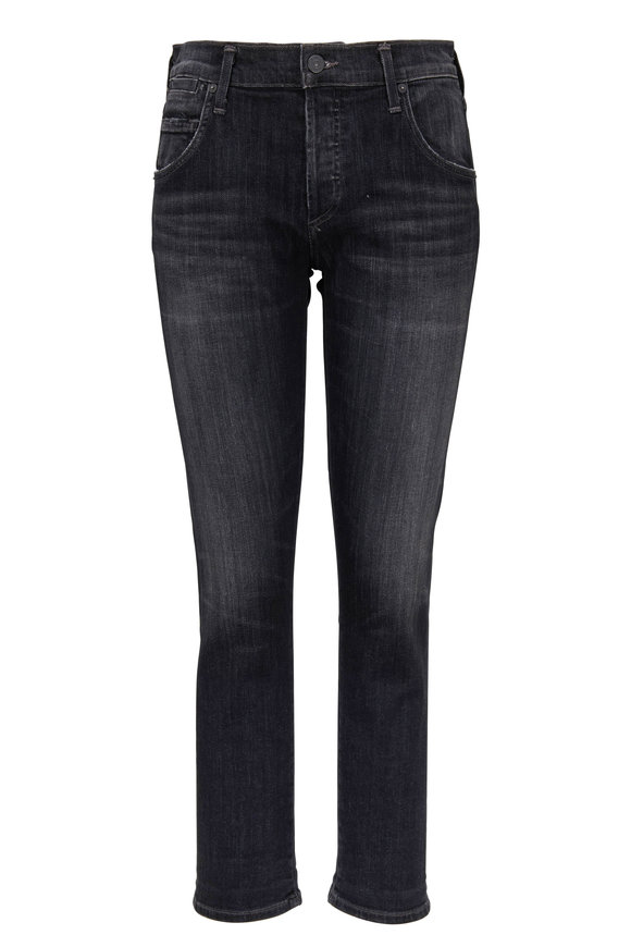 Citizens of Humanity Emerson Dark Gray Slim Fit Boyfriend Jean